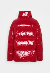 Tommy Hilfiger - HIGH GLOSS PUFFER - Down jacket - arizona red - 2
