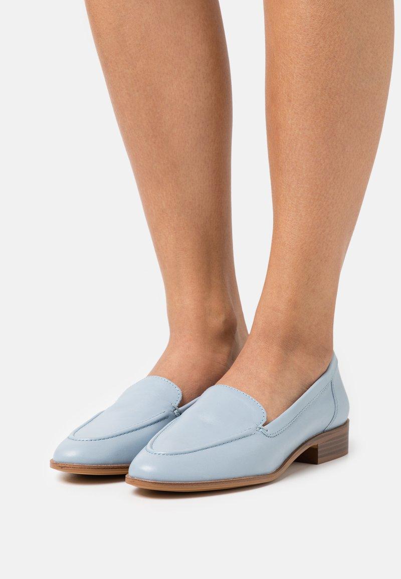 ALDO - GILILIAFLEX - Slip-ons - light blue