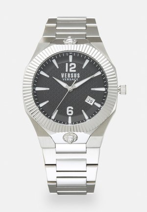 ECHO PARK - Watch - silver-coloured/black
