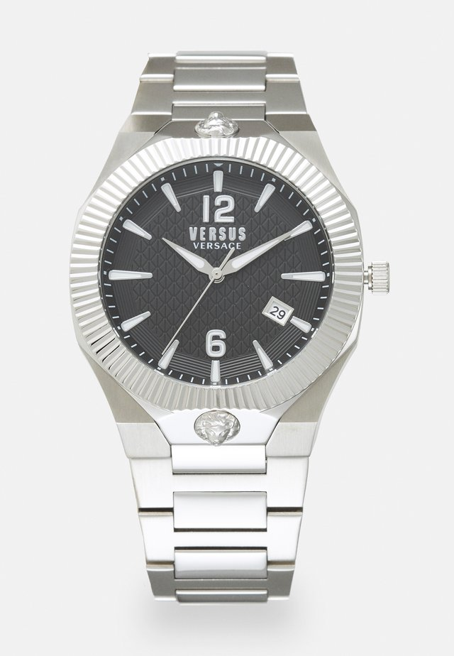 ECHO PARK - Reloj - silver-coloured/black