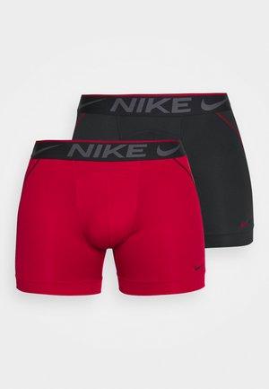 BRIEF 2 PACK - Pants - gym red/black