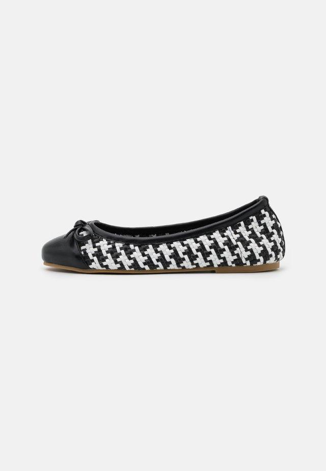 Ballet pumps - soft nero/bianco