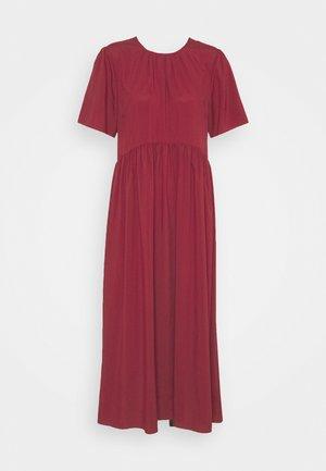 VALERIE MIDI DRESS - Day dress - lipstick red