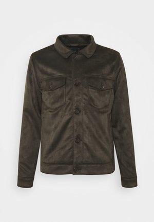 CLASSIC TRUCKER - Summer jacket - dark olive
