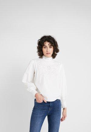 LIAM - Button-down blouse - white