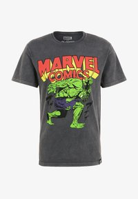 Re:Covered - MARVEL COMICS HULK  - Print T-shirt - grau - 1
