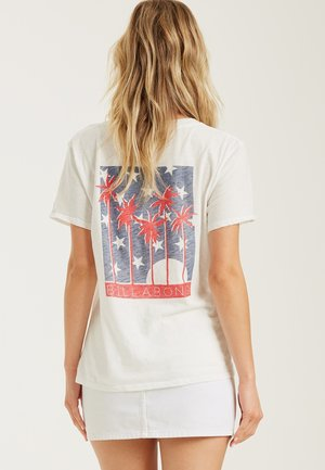 STARS AND PALMS - Camiseta estampada - salt crystal