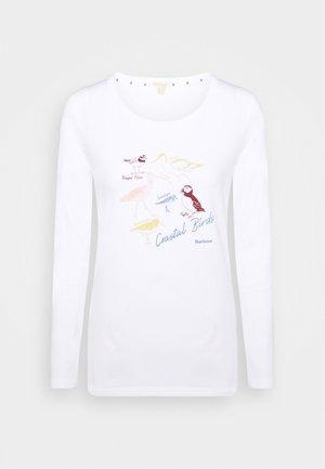 LONGSHORE TEE - Long sleeved top - white