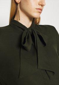 Bruuns Bazaar - PRALENZA ALLEA SHIRT DRESS - Day dress - green night - 7
