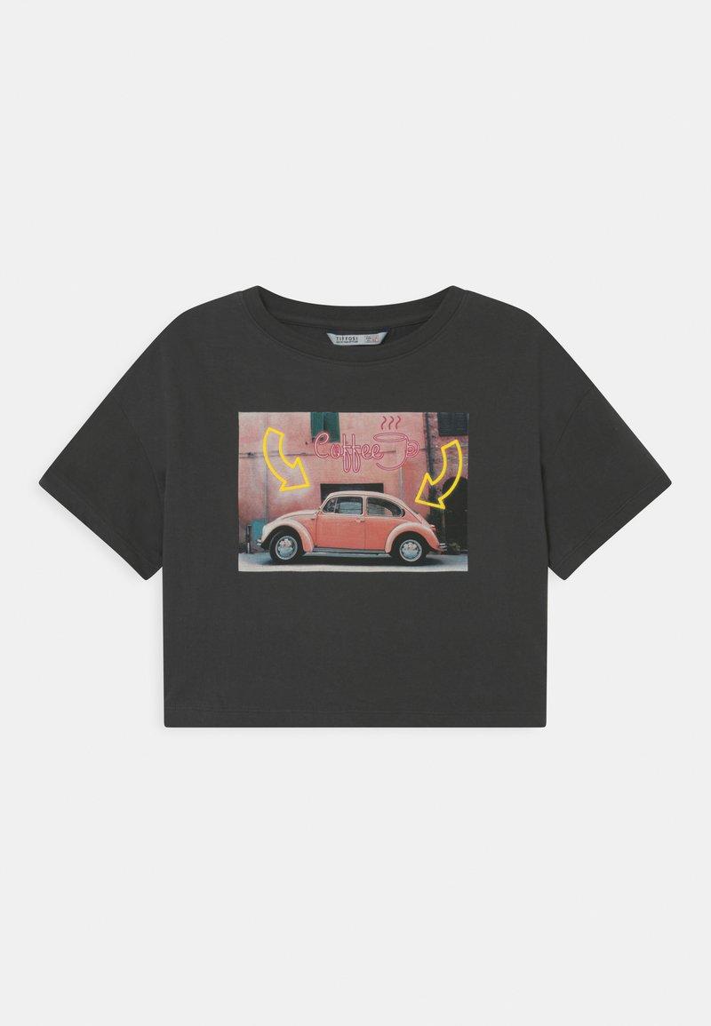 Tiffosi - FIONA - Print T-shirt - grey