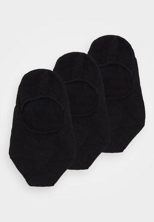 STEP BUNDLE 3 PACK - Trainer socks - black