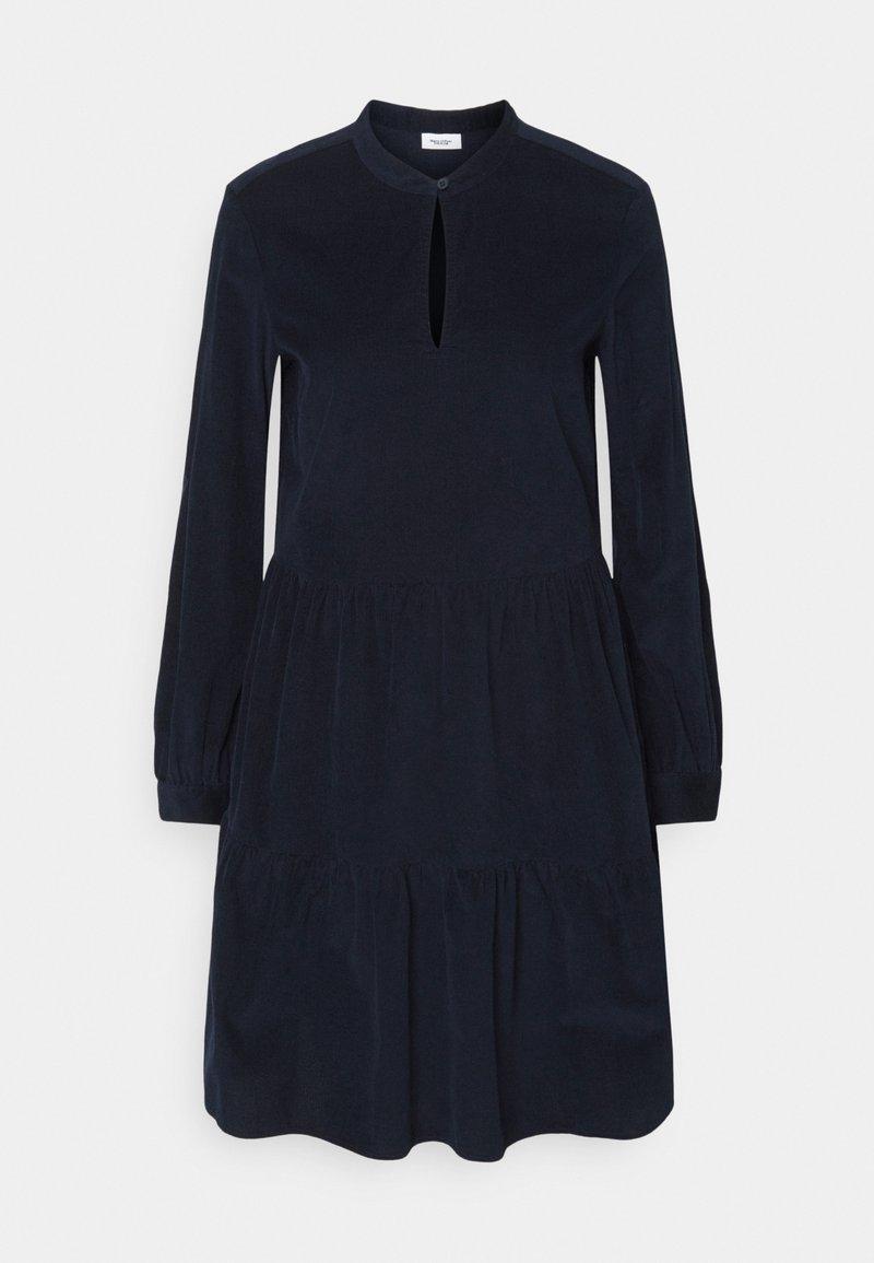 Marc O'Polo DENIM - DRESS GATHERED SKIRT - Day dress - scandinavian blue