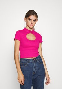 Gina Tricot - SANDY - Print T-shirt - cabaret - 0