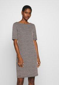 Esprit - KNIT DRESS - Shift dress - black - 0