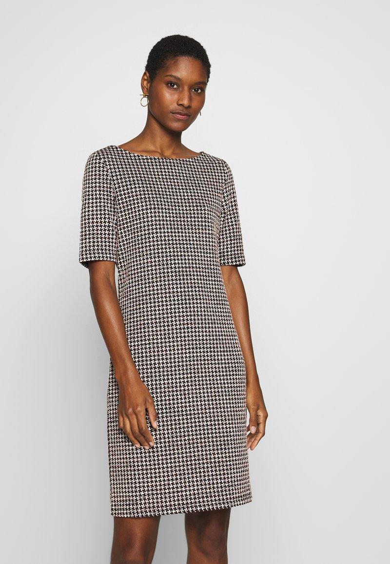 Esprit - KNIT DRESS - Shift dress - black