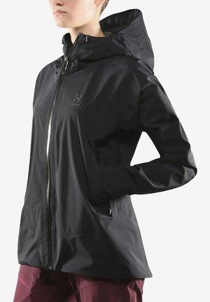 Soft shell jacket - true black