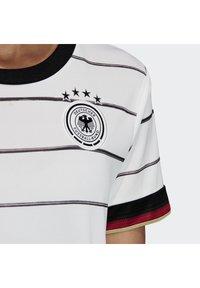adidas Performance - DEUTSCHLAND DFB HEIMTRIKOT - Club wear - white - 4