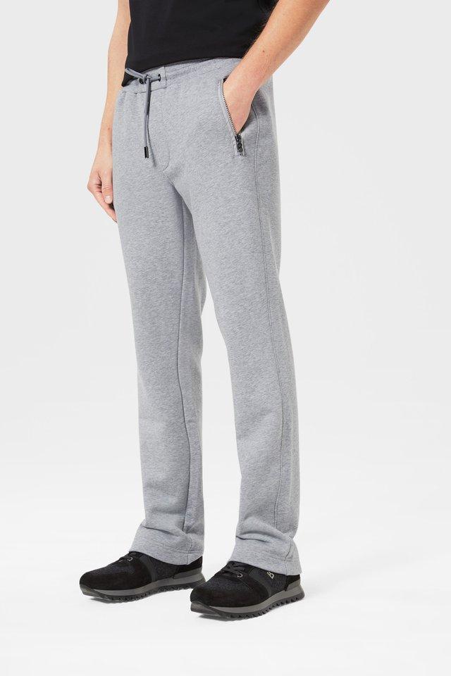 BONO - Pantalon de survêtement - hellgrau meliert