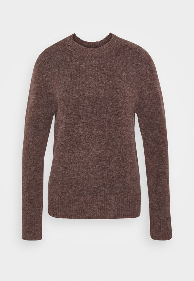 CREW NECK  - Jumper - brown