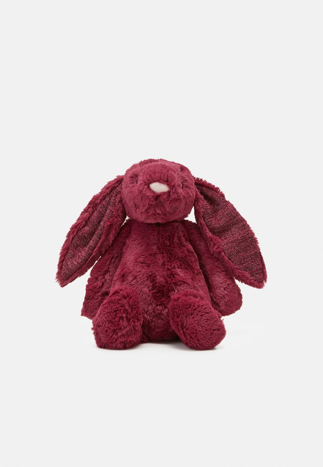 BASHFUL SPARKLY CASSIS BUNNY MEDIUM UNISEX - Pehmolelu - red