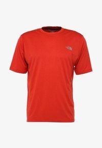 fiery red heather
