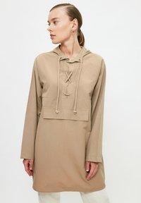 Trendyol - Long sleeved top - grey - 3
