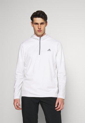 NOVELTY GOLF HOODY - Långärmad tröja - white