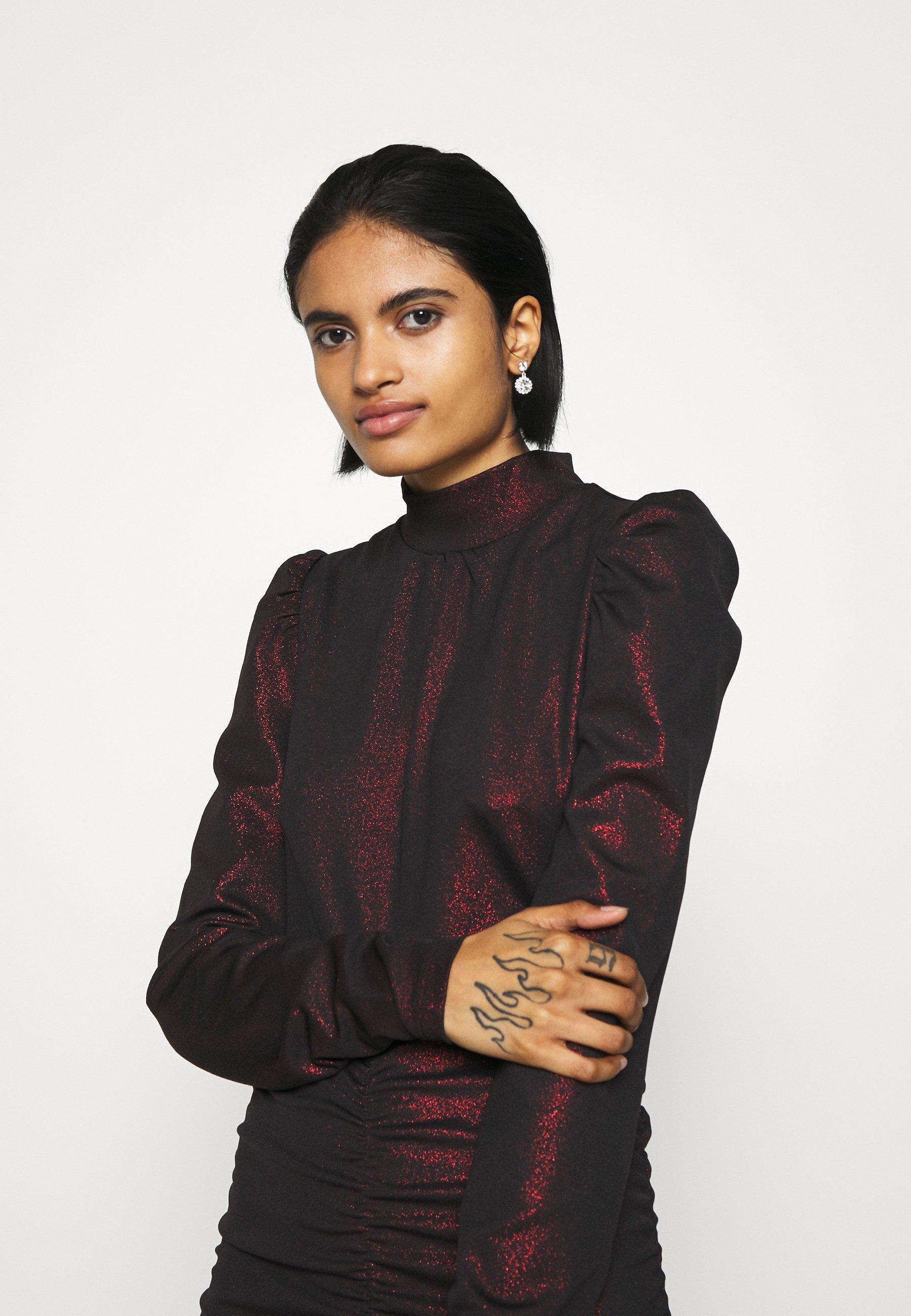 NIKKIE STACY DRESS Jerseykleid red/rot