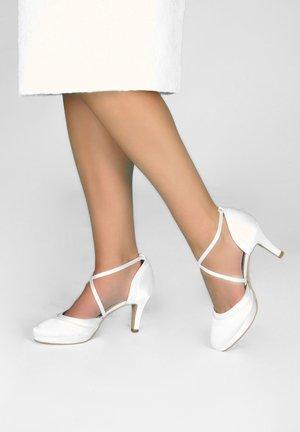 BRAUTSCHUHE ISOBEL - Classic heels - ivory