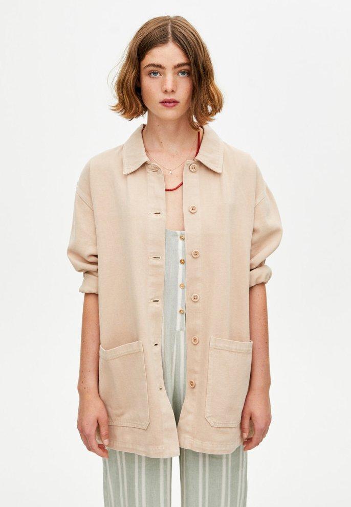 PULL&BEAR - IM WORKWEAR LOOK - Summer jacket - beige