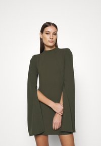 Mossman - THE SENSE OF MYSTERY DRESS - Jersey dress - khaki - 0