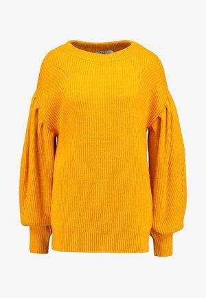 PUFF SLEEVE - Pullover - mustard