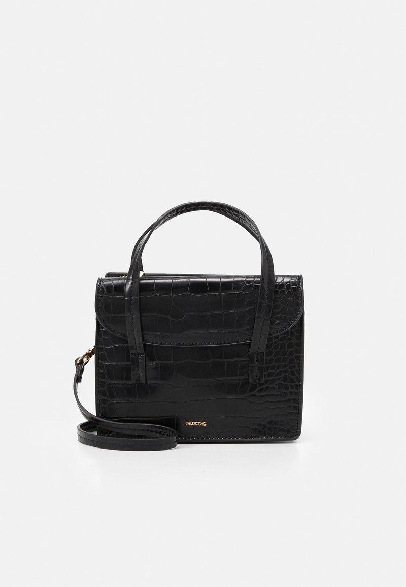 PARFOIS - CROSSBODY BAG CARP - Across body bag - black
