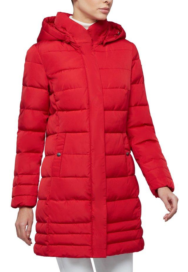 Winterjas - ribbon red