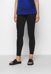 Anna Field MAMA - PUNTO LEGGING TROUSER - Leggings - Trousers - black - 0
