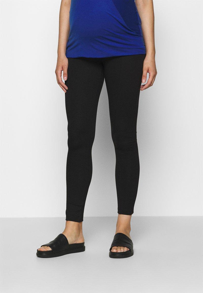 Anna Field MAMA - PUNTO LEGGING TROUSER - Leggings - Trousers - black