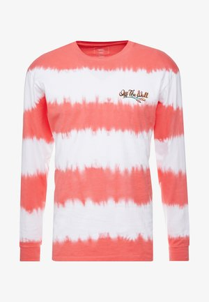 TIE DYED BAD TRIP - Long sleeved top - white-hibiscus