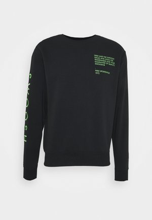 CREW - Sweatshirt - black/green