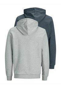 Jack & Jones - 2 PACK - Zip-up sweatshirt - navy blazer - 7