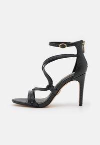 Buffalo - VEGAN MERCY - High heeled sandals - black - 1