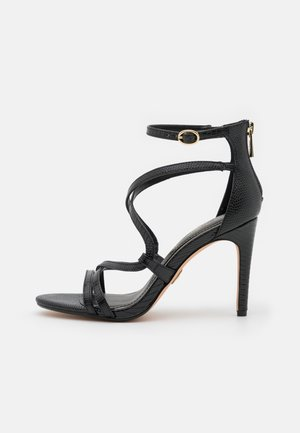 VEGAN MERCY - High heeled sandals - black