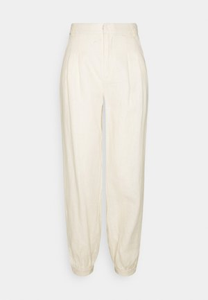 BALLOON LEG PANTS - Broek - beige