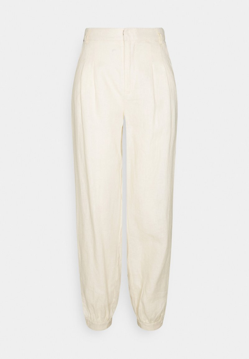 NA-KD Tall - BALLOON LEG PANTS - Pantaloni - beige