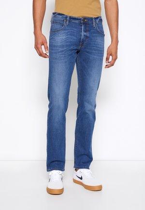 DAREN ZIP FLY - Jeans straight leg - mid stone wash