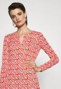Diane von Furstenberg - REINA DRESS - Jersey dress - red - 4
