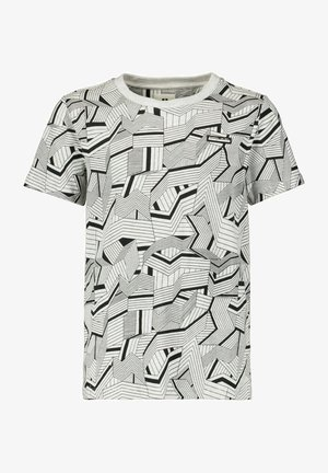 T-shirt con stampa - white melee