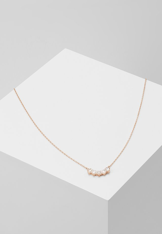 SUNSHINE NECKLACE - Halskette - rose gold-coloured/transparent