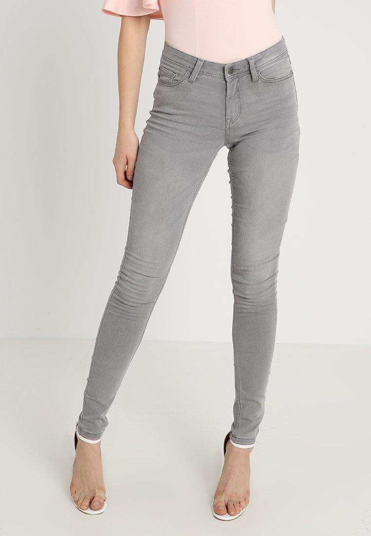 JDY - JDYJAKE SKINNY  - Jeans Skinny Fit - grey denim