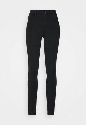 SOFT COMO SKINNY PANT - Trousers - black