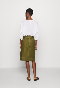 J.CREW TALL - NEW AVERY SKIRT - A-Linien-Rock - olive - 2